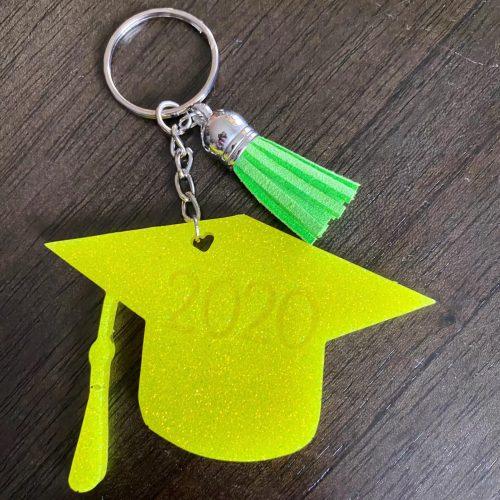 Graduation Cap 2020 Keychain