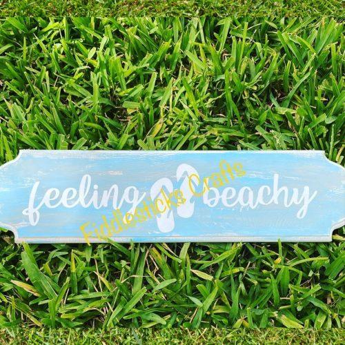 feeling beach