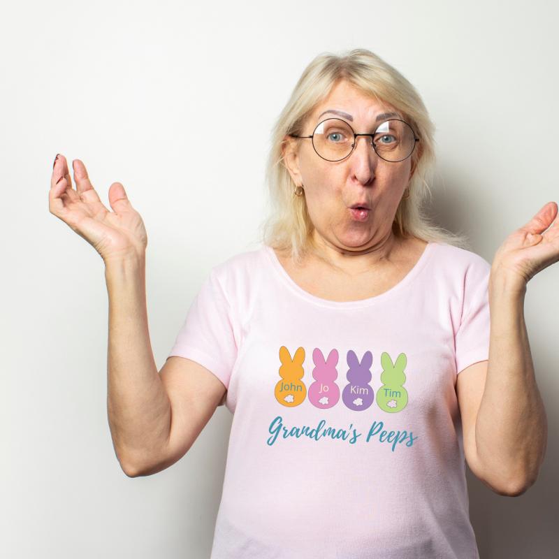 grandma pees