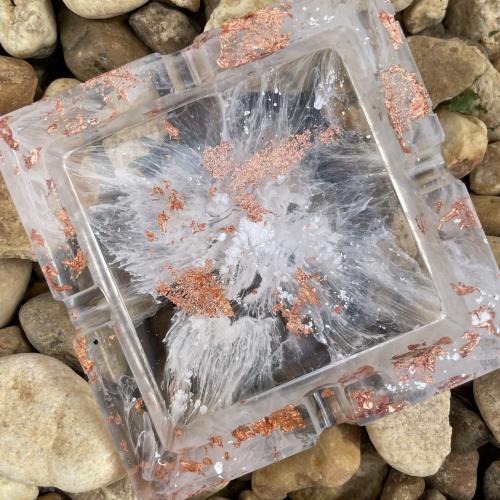 square ashtray